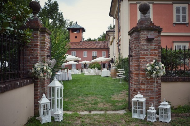 D+A Uno splendido matrimonio Country & Shabby Chic by Simmi @ Villa ...