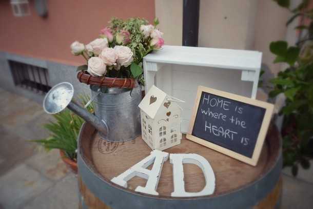Allestimenti Floreali Matrimonio Country Chic : D a uno splendido matrimonio country shabby chic by simmi