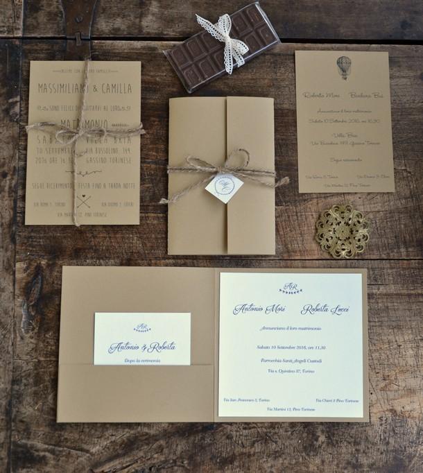 Partecipazioni Matrimonio In Word : Partecipazioni di nozze carta riciclata migliore