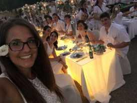 cena in bianco 2016 torino simmi floral design