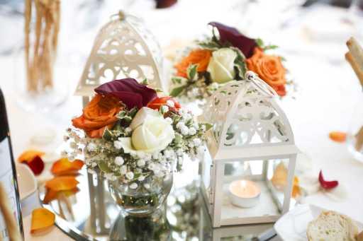 fiori per centrotavola di matrimonio a torino simmi floral design 3V