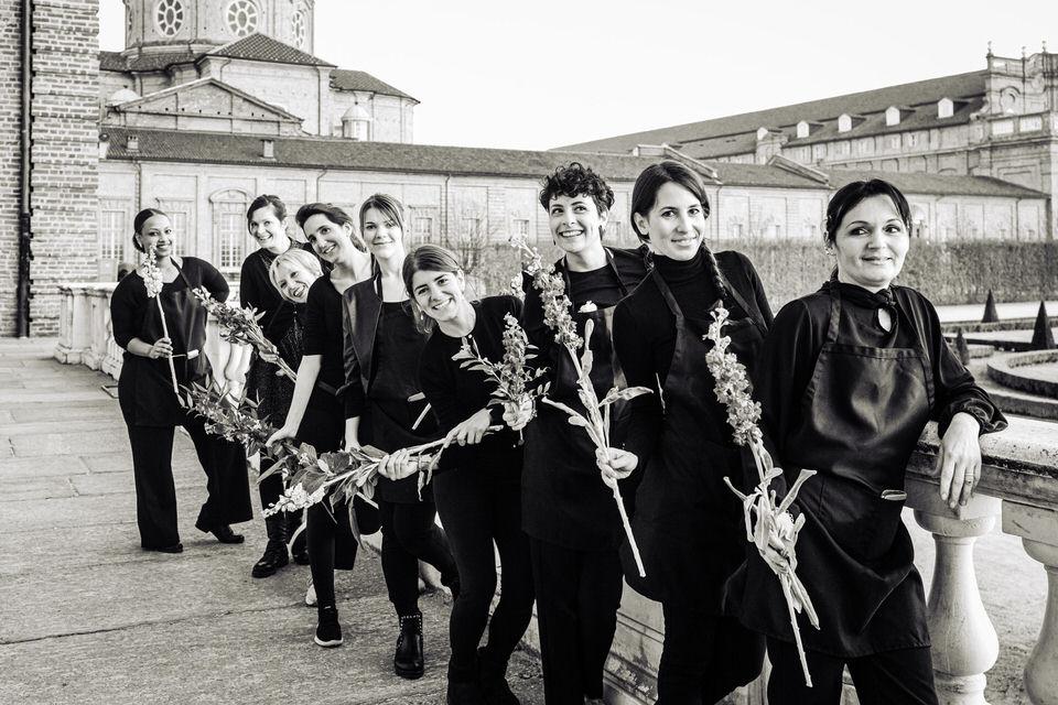 Un magico giardino di primavera per il Gran Galà di Carnevale alla Reggia di Venaria