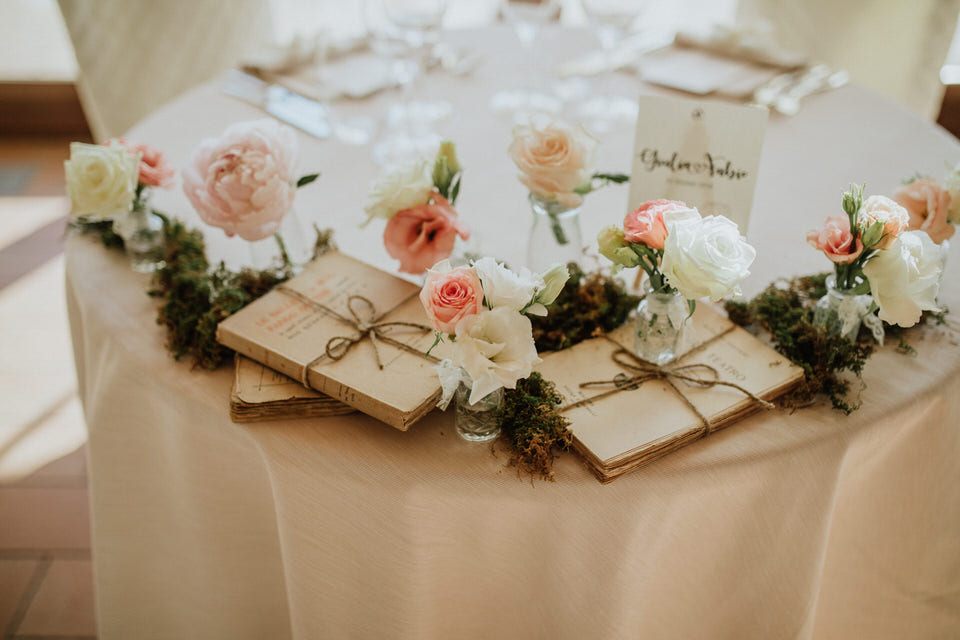 Un matrimonio shabby a Tota Virginia Langhe