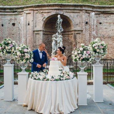 Un matrimonio modern chic a Villa Bria