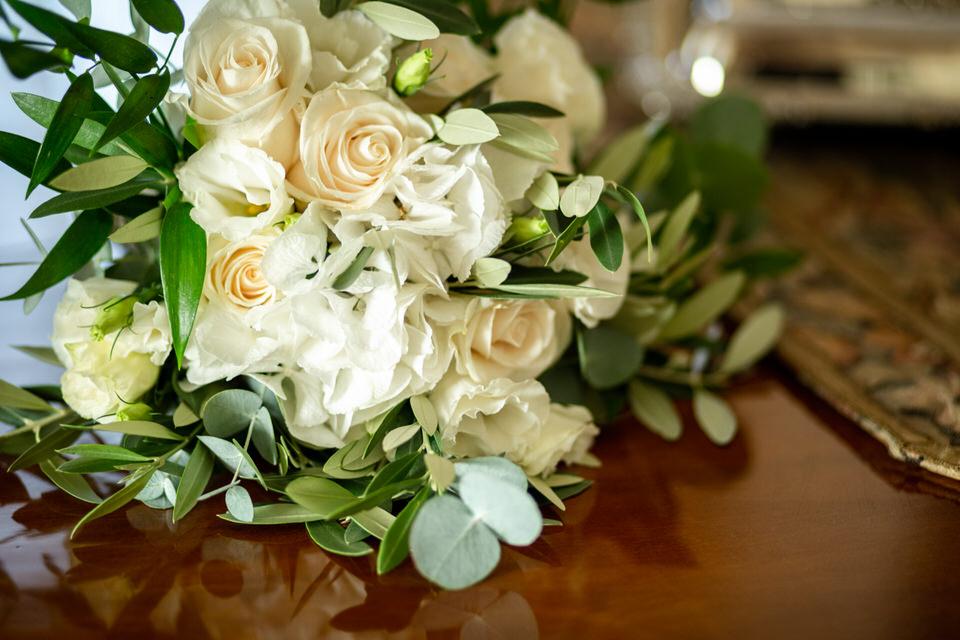 Fiori per un matrimonio: la rosa