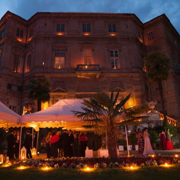 La festa per il diciottesimo al Castello di Collegno