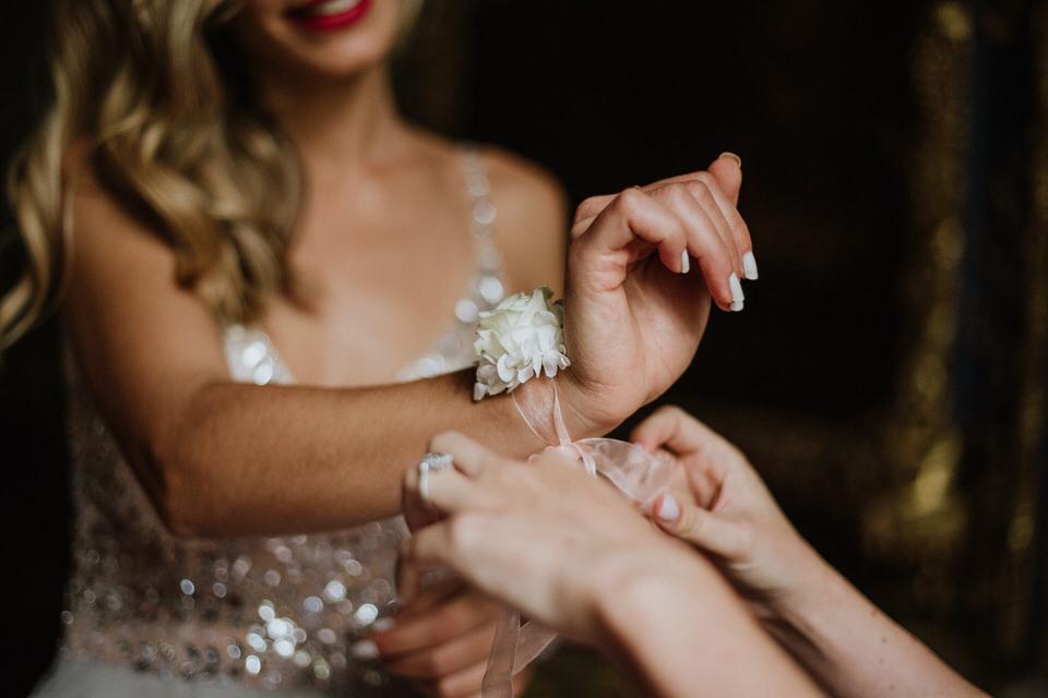 Un matrimonio a tema Grande Gatsby al Castello di Collegno