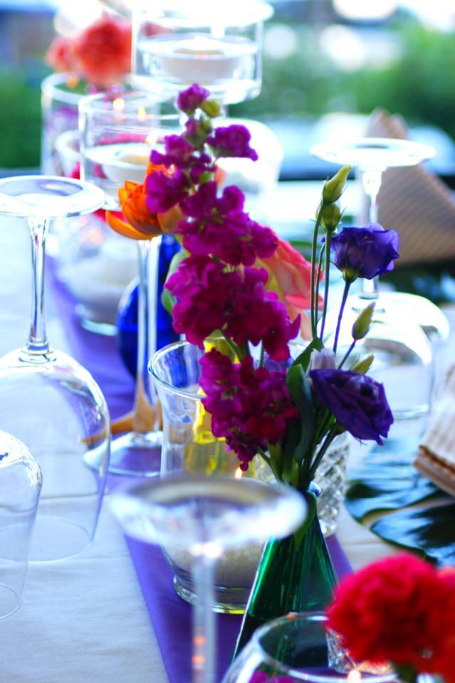 Una cena di prova per un matrimonio a Portofino