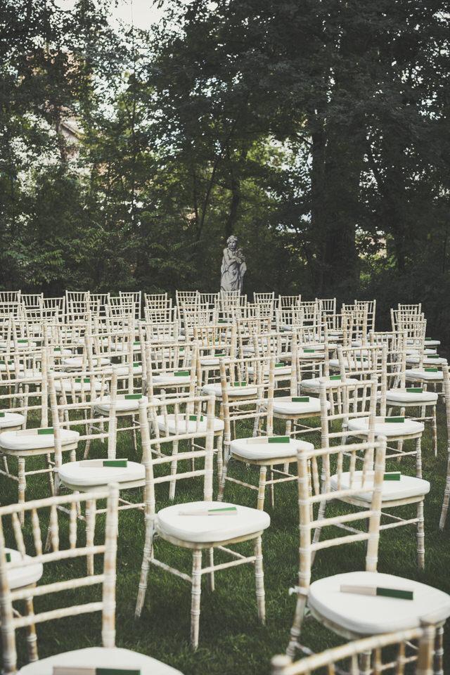 Un matrimonio green al castello di Pralormo