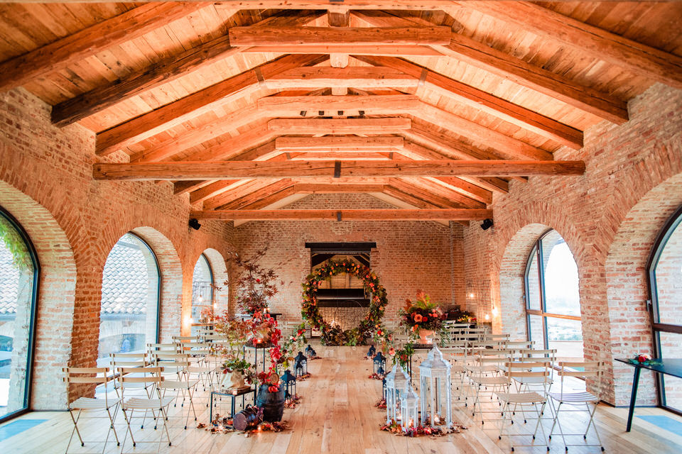 Un matrimonio autunnale a Cascina Ranverso