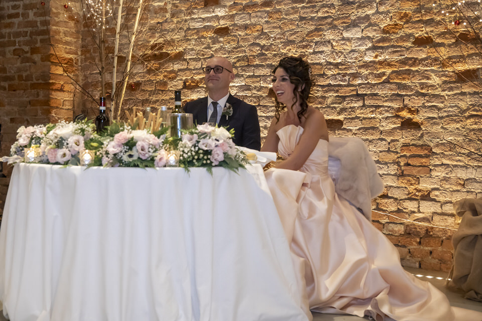 Un matrimonio invernale a tema enogastronomico