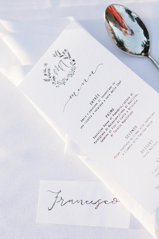 Un matrimonio botanico a Villa Bria